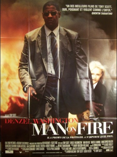 Affiche du film MAN ON FIRE