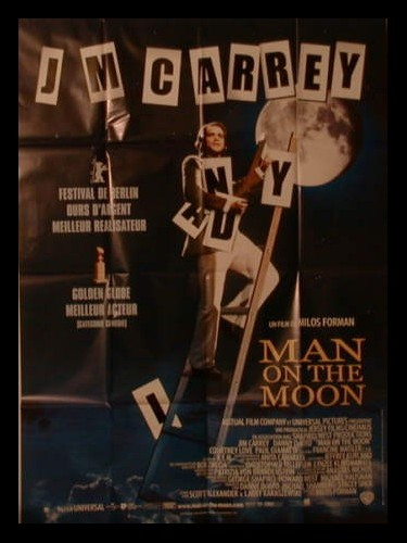 Affiche du film MAN ON THE MOON