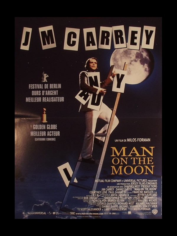 Affiche du film MAN ON THE MOON