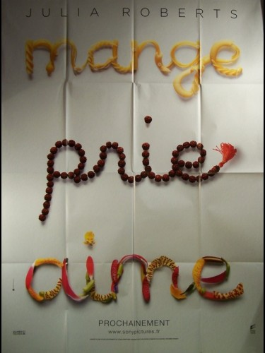 Affiche du film MANGE PRIE AIME (PREVENTIVE) - EAT PRAY LOVE