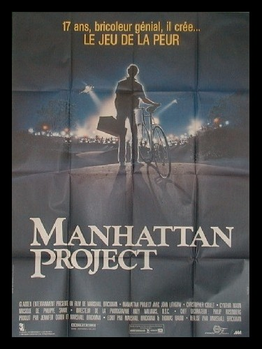 Affiche du film MANHATTAN PROJECT