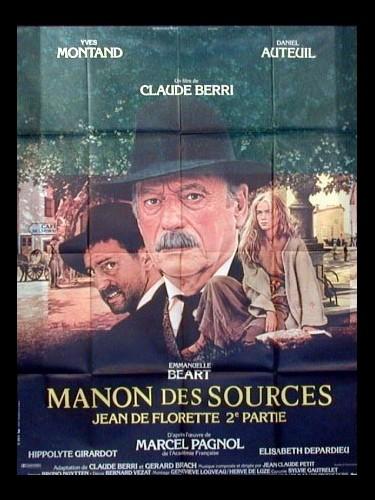 Affiche du film MANON DES SOURCES