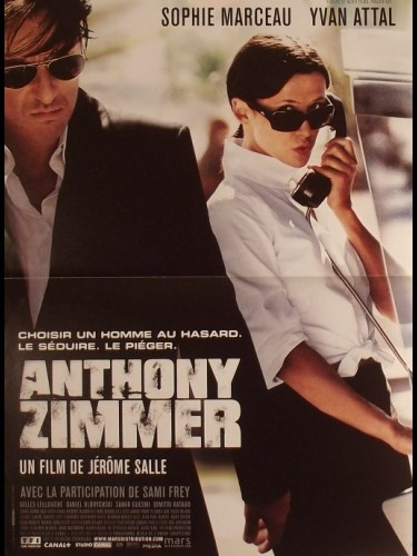 Affiche du film ANTHONY ZIMMER