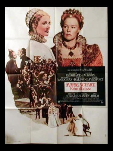 Affiche du film MARIE STUART REINE D'ECOSSE - Titre original : MARY, QUEEN OF SCOTS