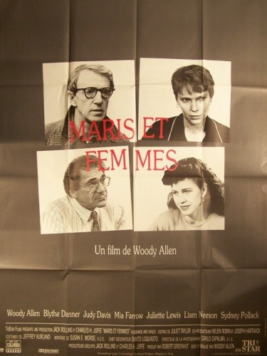 Affiche du film MARIS ET FEMMES - HUSBANDS AND WIVES