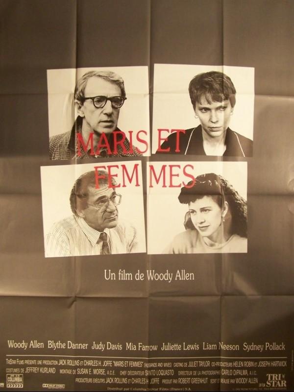 Affiche du film MARIS ET FEMMES - HUSBANDS AND WIVES