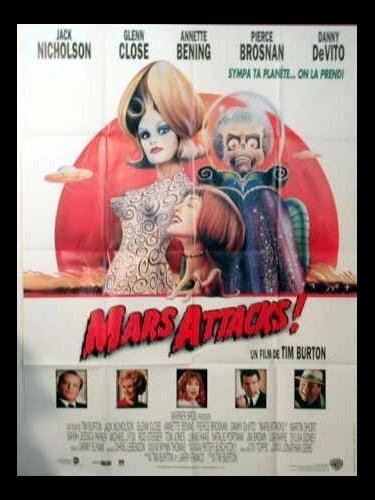 Affiche du film MARS ATTACK