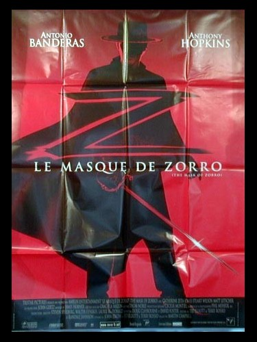 Affiche du film MASQUE DE ZORRO (LE) - THE MASK OF ZORRO
