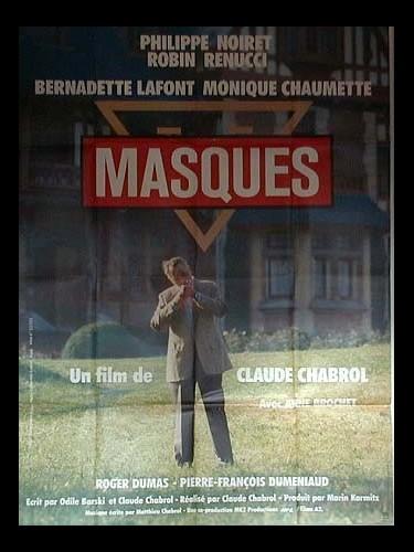 Affiche du film MASQUES