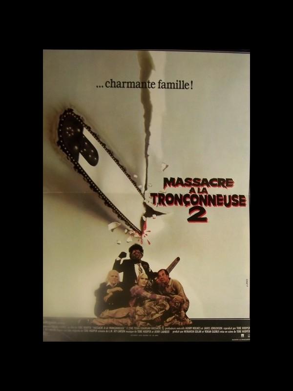 Affiche du film MASSACRE A LA TRONCONNEUSE 2 - THE TEXAS CHAINSAW MASSACRE 2