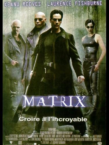 Affiche du film MATRIX