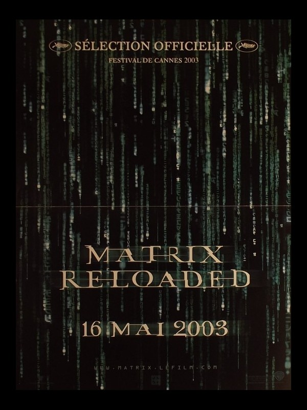 Affiche du film MATRIX RELOADED