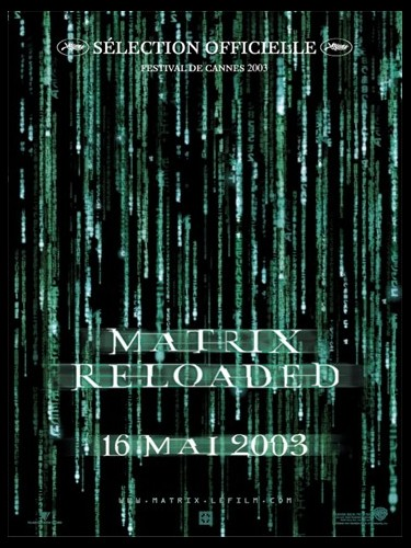 Affiche du film MATRIX RELOADED - MATRIX RELOADED (THE)