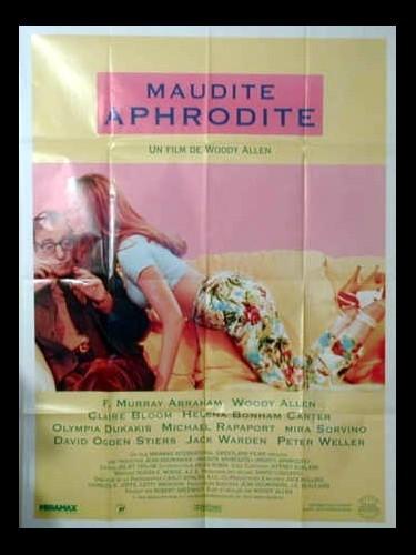 Affiche du film MAUDITE APHRODITE - MIGHTY APHRODITE