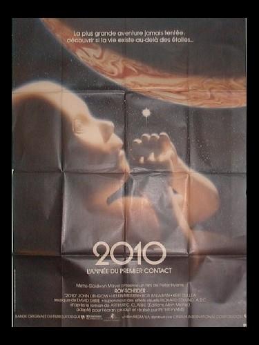 Affiche du film 2010 L'ANNÉE DU PREMIER CONTACT