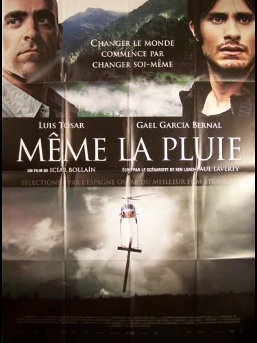 Affiche du film MEME LA PLUIE - TAMBIÉN LA LLUVIA