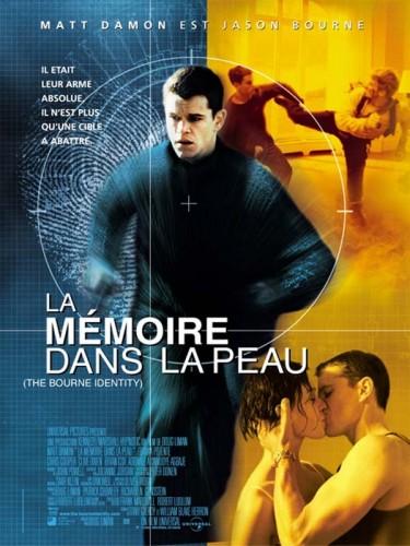 Affiche du film MEMOIRE DANS LA PEAU (LA) - THE BOURNE IDENTITY