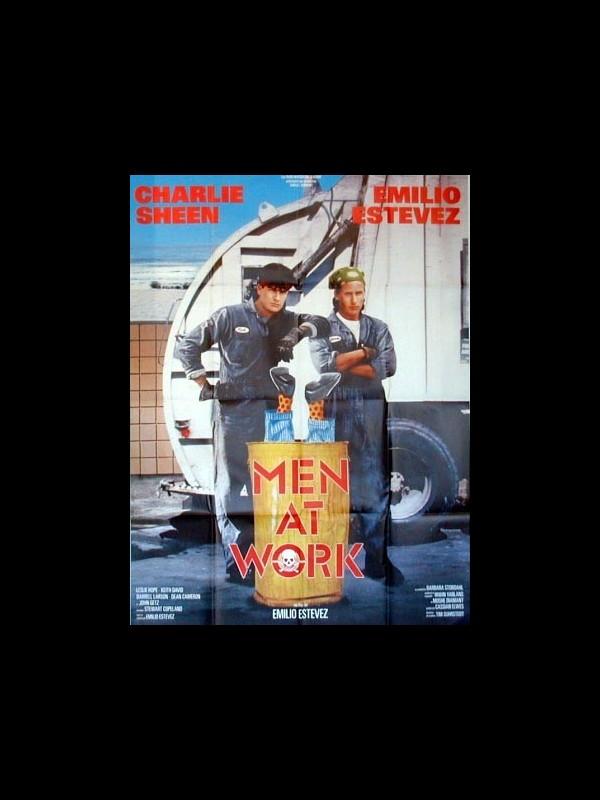 Affiche du film MEN AT WORK