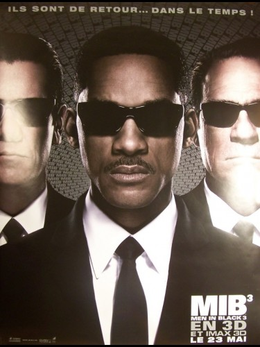 Affiche du film MEN IN BLACK III (AFFICHE ROULÉE)
