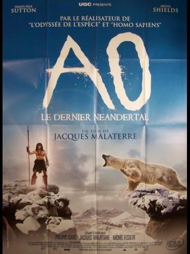 Affiche du film AO-LE DERNIER NEANDERTAL-