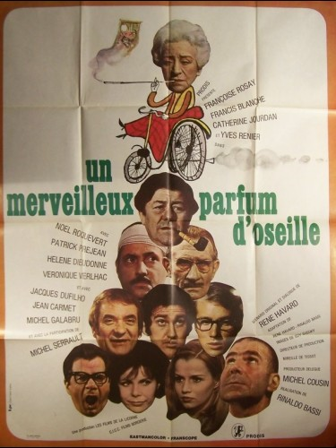 Affiche du film MERVEILLEUX PARFUM D'OSEILLE (UN)