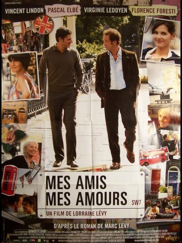 Affiche du film MES AMIS MES AMOURS