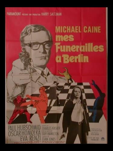 Affiche du film MES FUNERAILLES A BERLIN - FUNERAL IN BERLIN