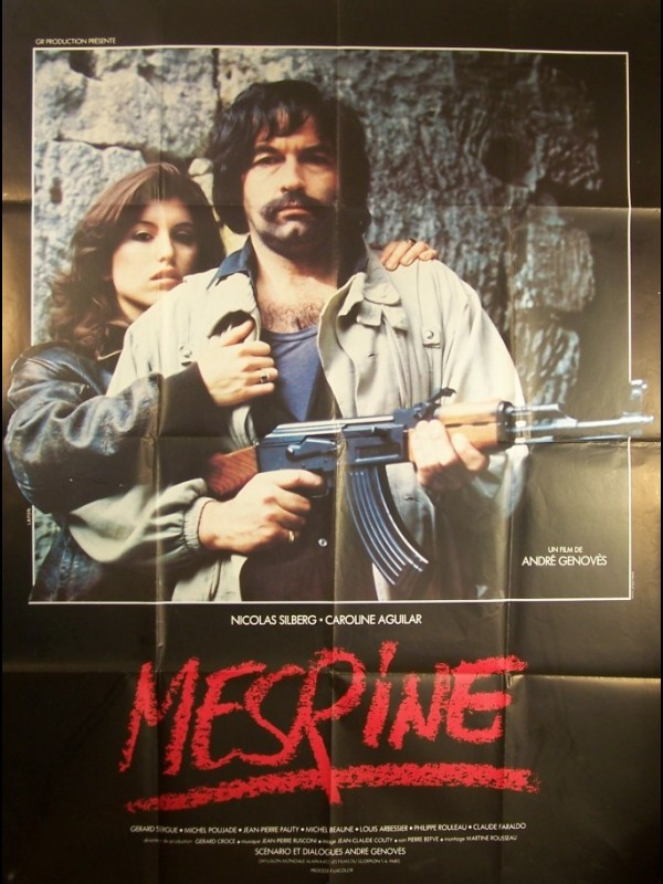 Affiche du film MESRINE