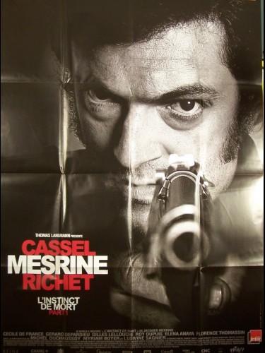 Affiche du film MESRINE 1ERE PARTIE -L'INSTINCT DE MORT-