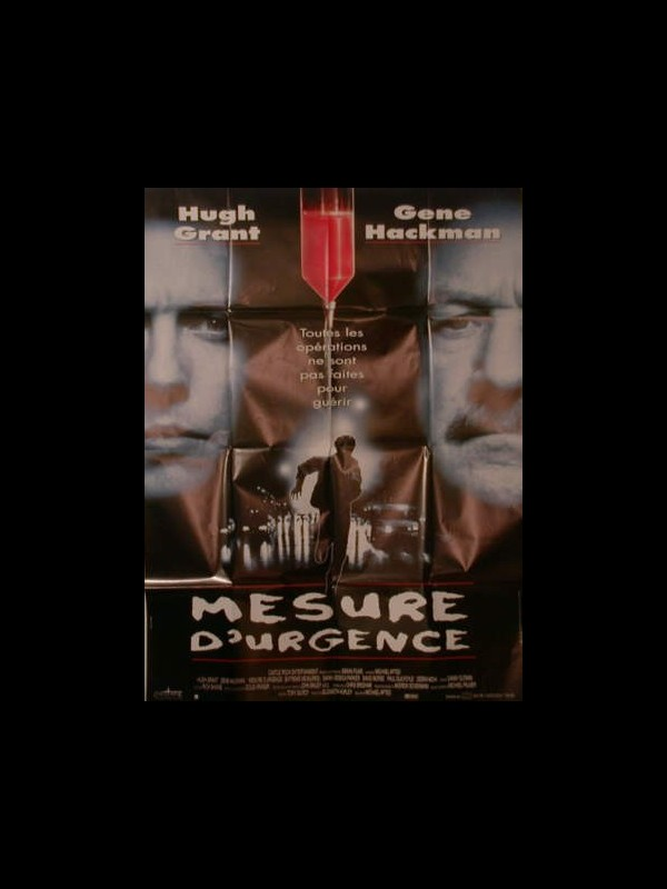 Affiche du film MESURE D'URGENCE - EXTREME MEASURES
