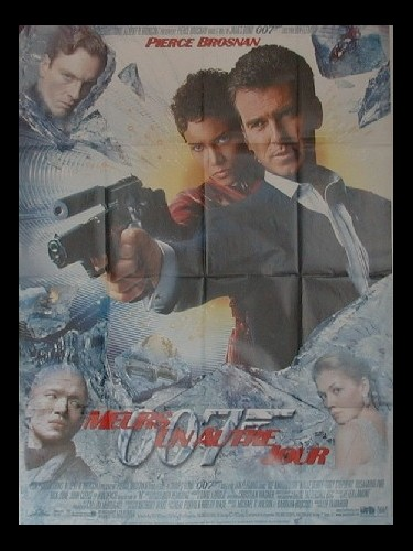 Affiche du film MEURS UN AUTRE JOUR (JAMES BOND) - DIE ANOTHER DAY