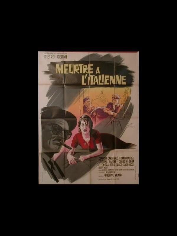 Affiche du film MEURTRE A L'ITALIENNE