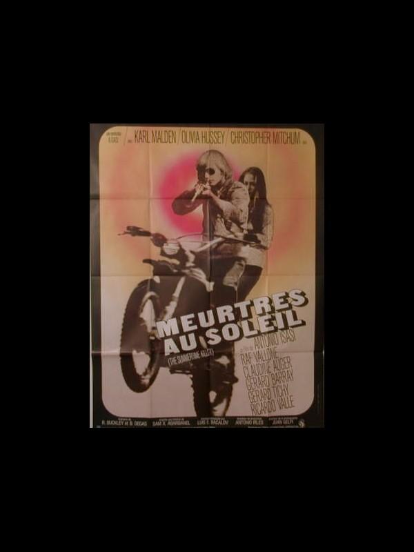 Affiche du film MEURTRES AU SOLEIL - UN VERANO PARA MATAR