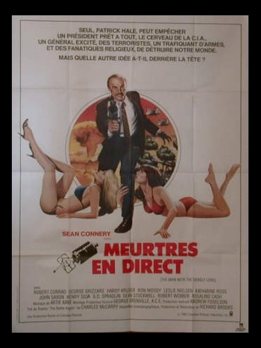 Affiche du film MEURTRES EN DIRECT - WRONG IS RIGHT