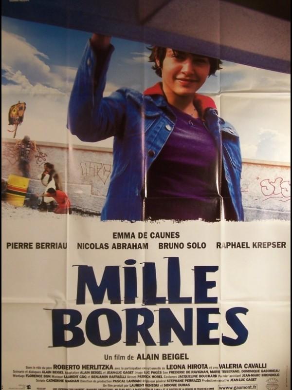 Affiche du film MILLE BORNES