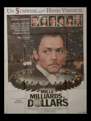 Affiche du film MILLE MILLIARDS DE DOLLARDS
