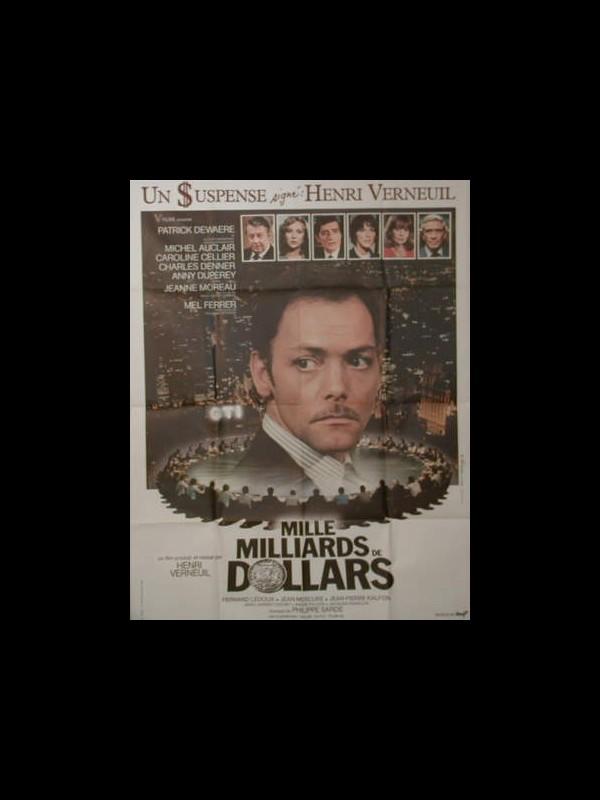 Affiche du film MILLE MILLIARDS DE DOLLARDS