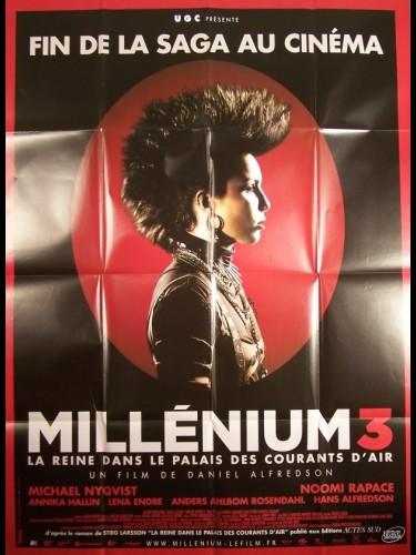 Affiche du film MILLENIUM 3