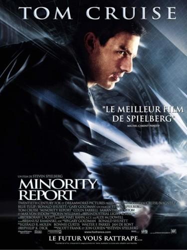 Affiche du film MINORITY REPORT - MINORITY REPORT