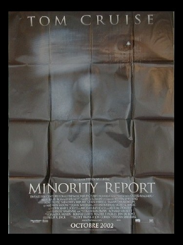 Affiche du film MINORITY REPORT (PREVENTIVE)
