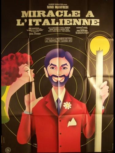 Affiche du film MIRACLE A L'ITALIENNE - PER GRAZIA RICEVUTA