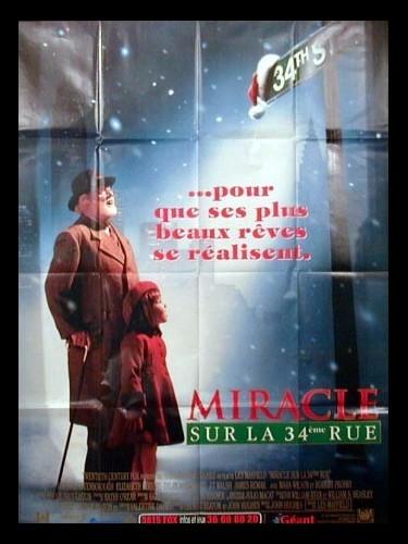Affiche du film MIRACLE SUR LA 34EME RUE