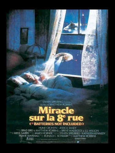 Affiche du film MIRACLE SUR LA 8EME RUE - BATTERIES NO INCLUDED