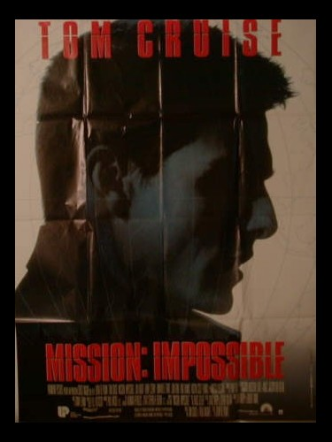 Affiche du film MISSION IMPOSSIBLE