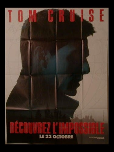 Affiche du film MISSION IMPOSSIBLE (PREVENTIVE )
