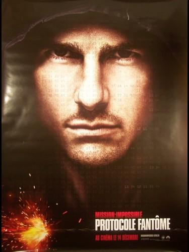 Affiche du film MISSION IMPOSSIBLE (PROTOCOLE FANTOME) B