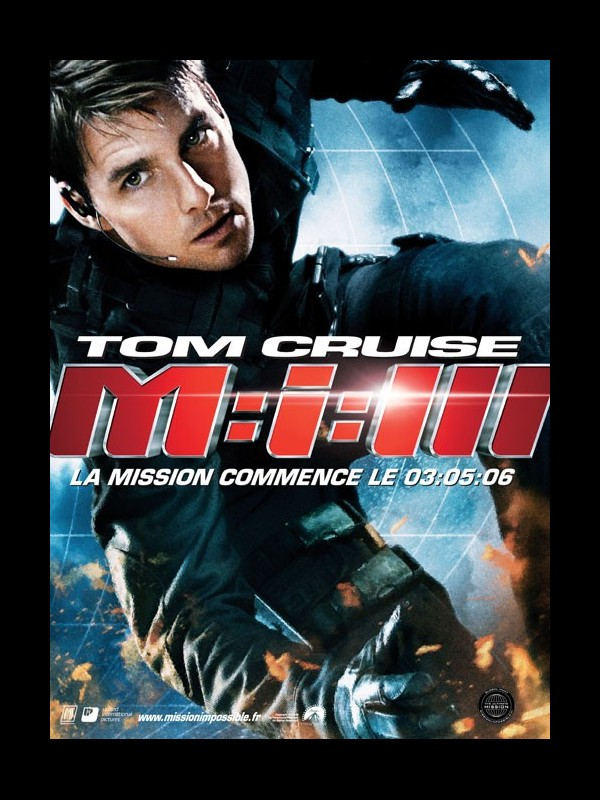Affiche du film MISSION IMPOSSIBLE 3 ( M:I.III)