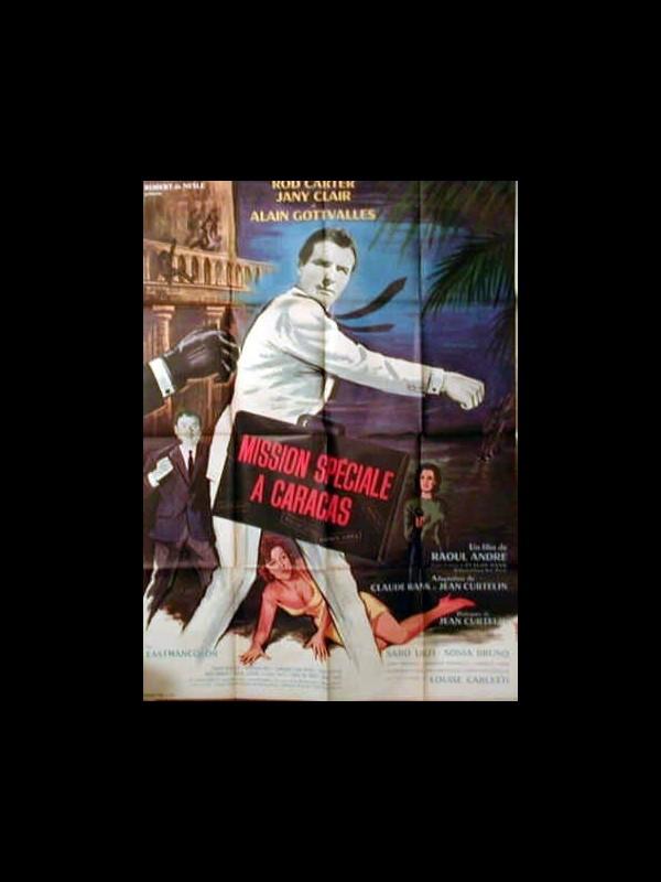 Affiche du film MISSION SPECIALE A CARACAS