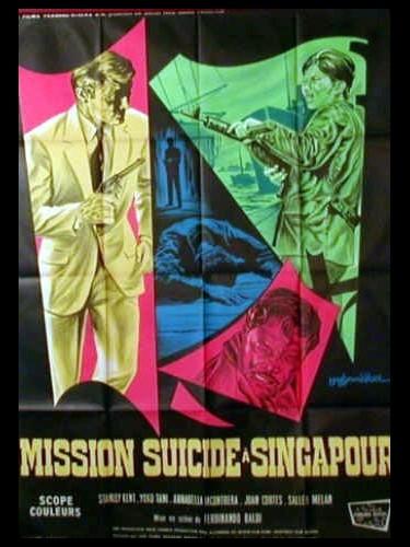 Affiche du film MISSION SUICIDE A SINGAPOUR - GOLDSNAKE 'ANONIMA KILLERS