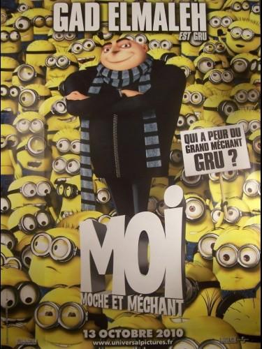 Affiche du film MOI MOCHE ET MECHANT
